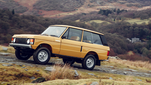 Land Rover Is Now Building Completely Restored First-Generation Range Rovers
