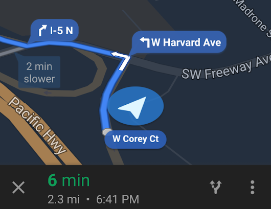 Google Maps Navigation Bubbles Containing Street And Exit Names Are Rolling Out To More People