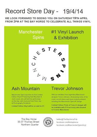 Manchester Spins Vinyl EP Launch #1