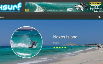 Europe's Unspoiled kitesurf spot, center in Greece | Naxos Kitesurf Club