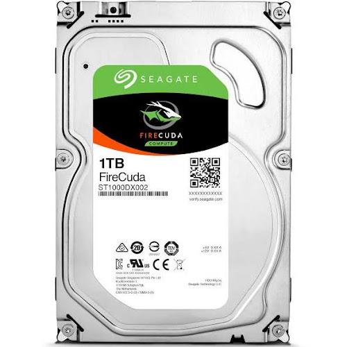"Seagate FireCuda 1 TB Internal Hybrid Drive - 3.5"" - ST1000DX002 - SATA 6Gb/s"
