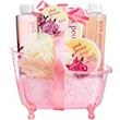 White Rose Jasmine Gold Tub Spa Bath Gift Set: : Beauty