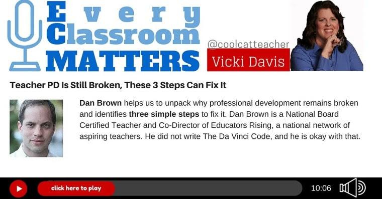 Dan Brown Teacher professional development PD