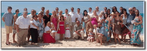 wedding family protrait