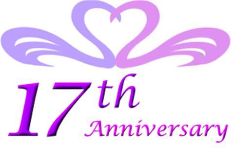 17th wedding anniversary gift ideas   Perfect 17th