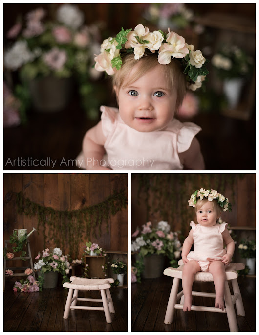 Putnam County Baby Photos | Limited Edition Spring/Easter - Beacon Newborn Photographer | Artistically Amy