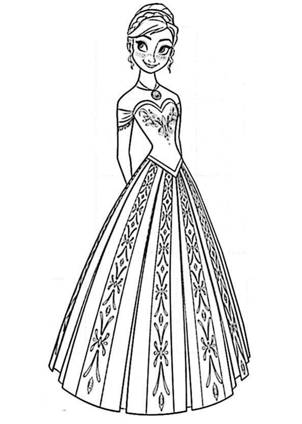 ausmalbilder kostenlos drucken  die eiskönigin gratis