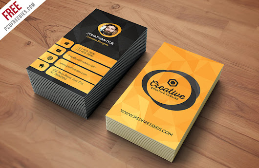 Free Agency Business Card PSD Template | Antara's Diary