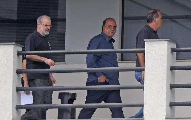 Governador do rio foi preso ontem