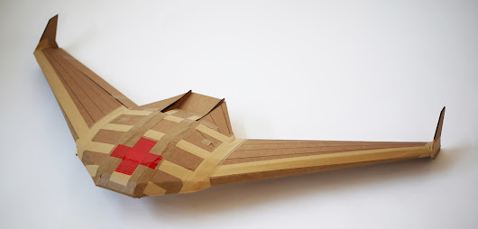 Video: How a Cardboard Drone Could Save Lives