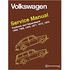 Volkswagen Fastback and Squareback (Type 3) Service Manual 1968, 1969, 1970, 1971, 1972 1973 [Book]