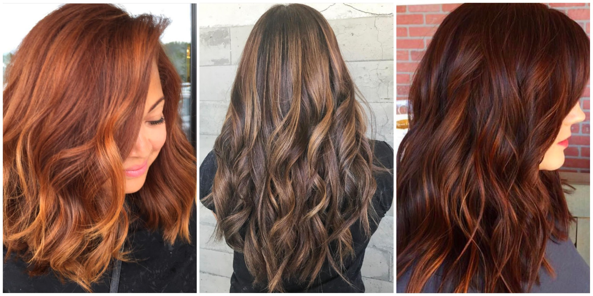 10 Hair Colors Inspired by Fall - Fall Hair Colors 2017
