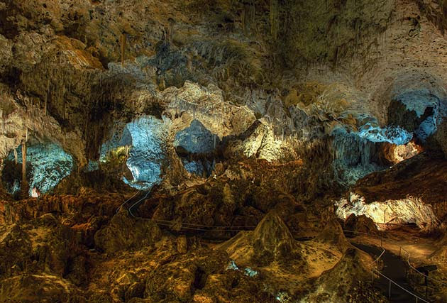 Carlsbad Cavern - Places to visit out west
