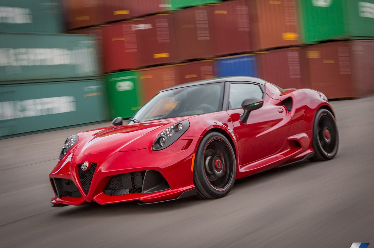 Alfa Romeo 4C Honored as Best Value Luxury Sports Car in