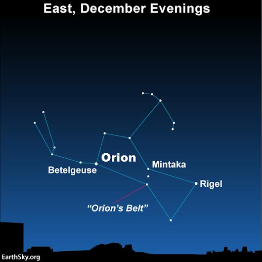 Orion's Belt and the Celestial Bridge | EarthSky.org