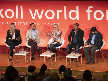 Skoll World Forum panel