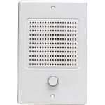 M&S Systems Door Speaker with Bell Button, White