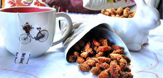 Honey Roasted Almonds (Bonus: Candied Cashews)
