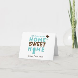 Home Sweet Home Note Card