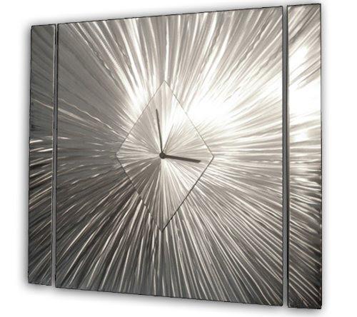 Contemporary Abstract Metal Wall Clocks