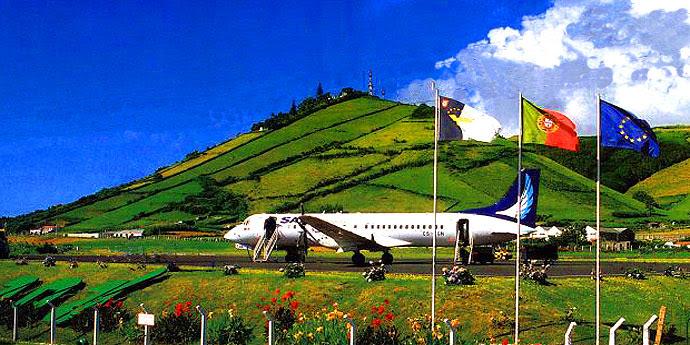 Anreise Azoren SATA Azoren
