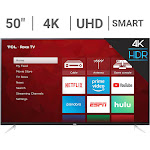 """TCL 50S423 50"""" 4K UHD HDR Smart Roku LED TV"""