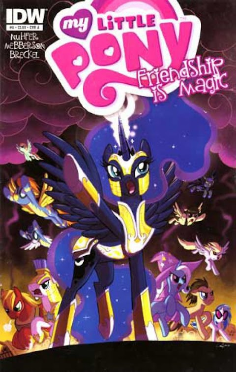 My Little Pony Comic Book Covers