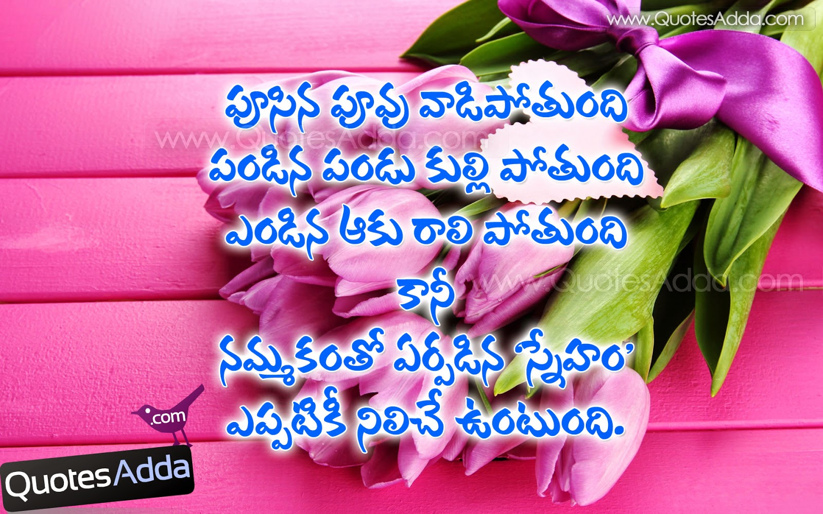 Telugu Friendship Quotes Friendship Telugu