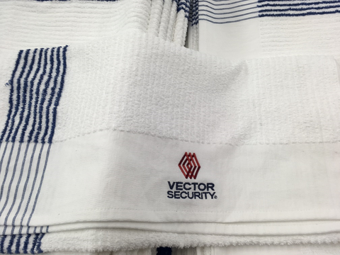 Embroidered Towels are classy