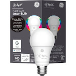 C by GE Full Color Smart Bulb A19 (1-Pack) - White