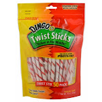 United Pet Group P-45022 United Pet Group P-45022 Twist Sticks Dog Treats 50 Count