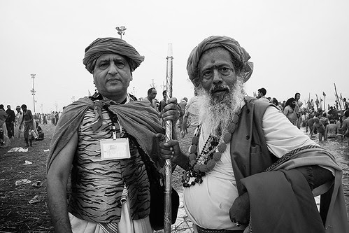 My Guru And Me At The Shahi Snan by firoze shakir photographerno1