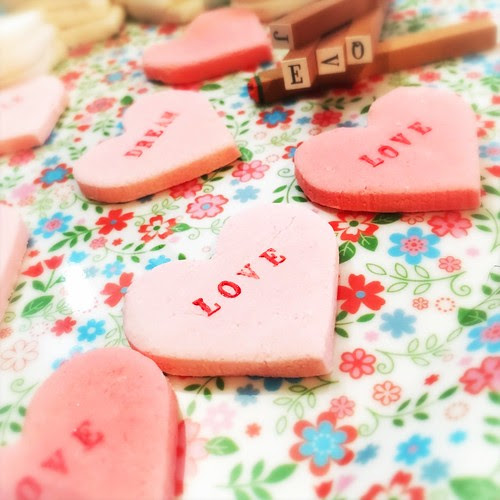 Valentine Heart Candy