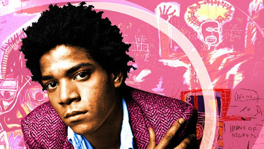 » Black History Month art series by artist Adam Hernandez: 'Jean-Michel Basquiat'