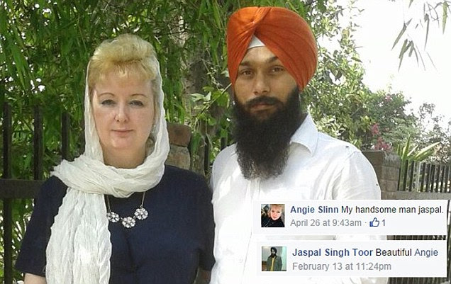 Angela Slinn dies in India days after travelling to meet Facebook lover