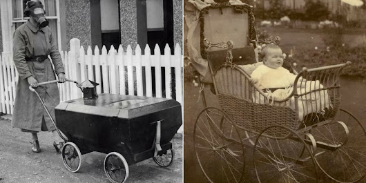 15 Pics Of Baby Strollers From The Past | BabyGaga