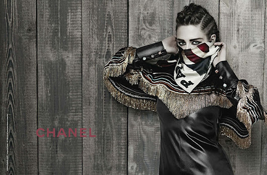 Chanel crowns Kristen Stewart as the brands new face | The Fashionography