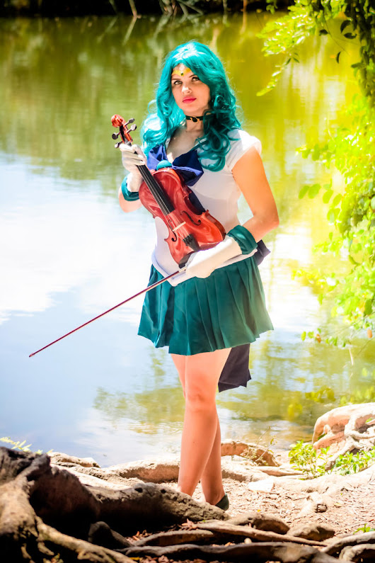 Sailor Neptune by melcosplay on DeviantArt