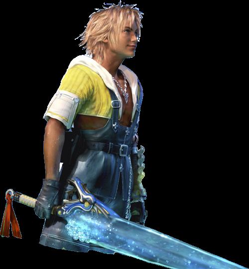 6 tidus ffx Top 20 personagens masculinos mais bonitos dos games