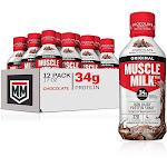 Cytosport Muscle Milk RTD 12 Pack/17 Fl Oz. Strawberries and Cream