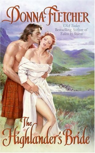 book cover of   The Highlander's Bride    (Highlander, book 2)  by  Donna Fletcher