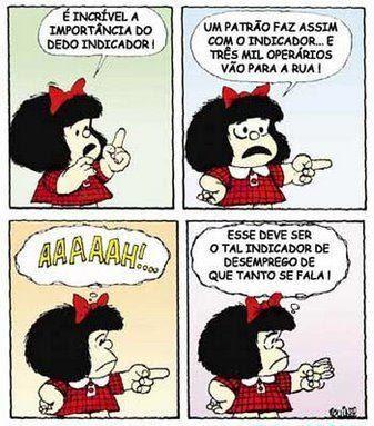 Mafalda, o indicador do desemprego