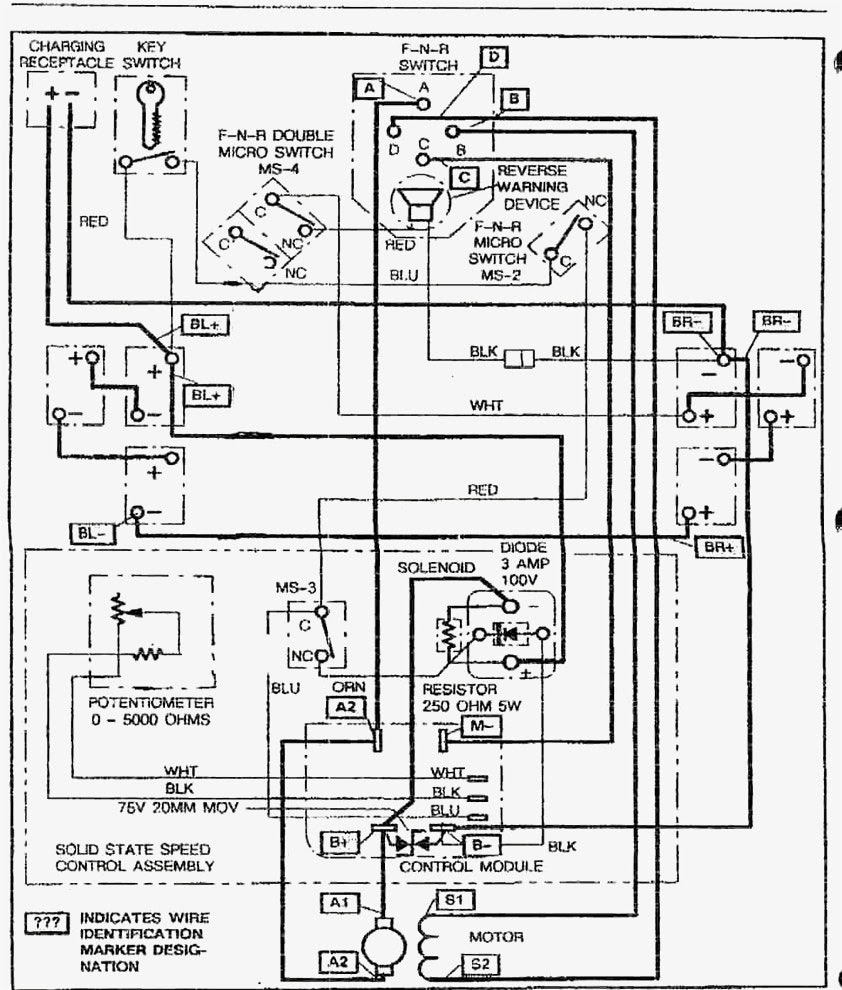 Power Ez Go Wiring Harnes Diagram
