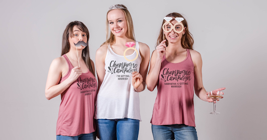 Champagne Campaign Shirts For Your Bachelorette - Bridal Party Tees