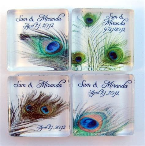 25  best ideas about Peacock Wedding Favors on Pinterest