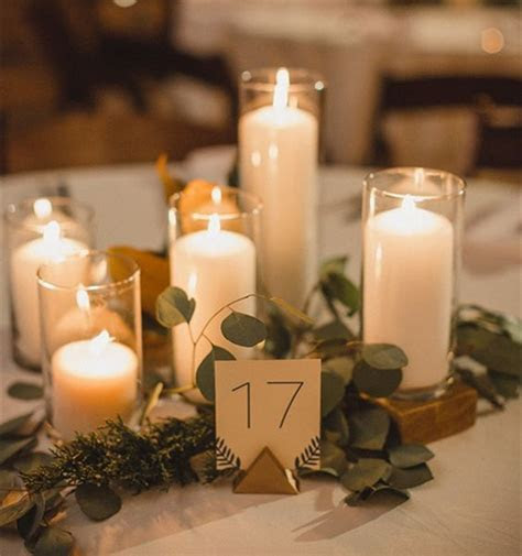 28 Centerpieces for Round Tables (in Different Styles