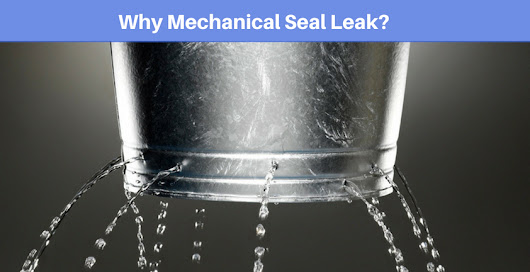 Why Mechanical Seal Leak? - LEAK-PACK