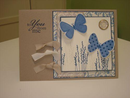 Kraft,blue flight of butterfly