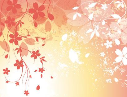 桜の花びら背景のイラストaieps ベクタークラブイラストレーター