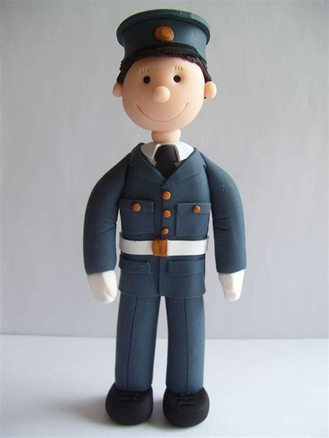 Raf cake topper   so glad Clarke may wear his uniform for
